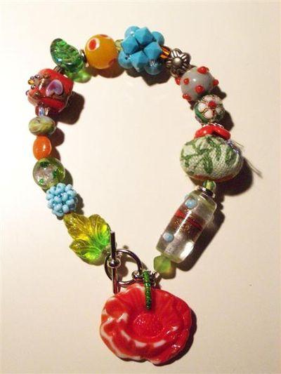 Flower bracelet (Medium)