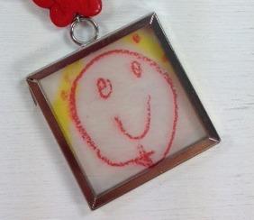 Kid art necklace 3