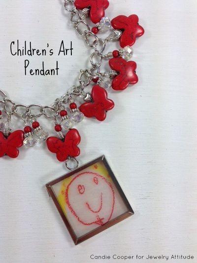 Kid art necklace 2